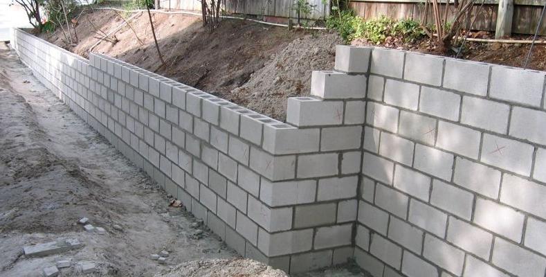 Como Fazer Um Muro De Blocos De Concreto Mevo